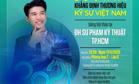 Tiếp tục chuỗi Hội thảo khẳng định thương hiệu kỹ sư Việt Nam - Điểm đến  ĐH Sư phạm Kỹ thuật TPHCM